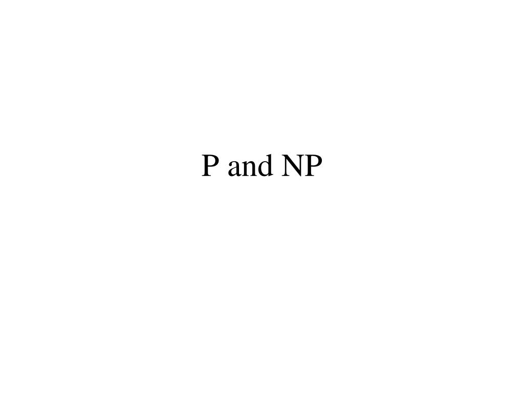 p and np l.