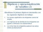 hip tesis y operacionalizaci n de variables 2