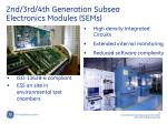 2nd 3rd 4th generation subsea electronics modules sems