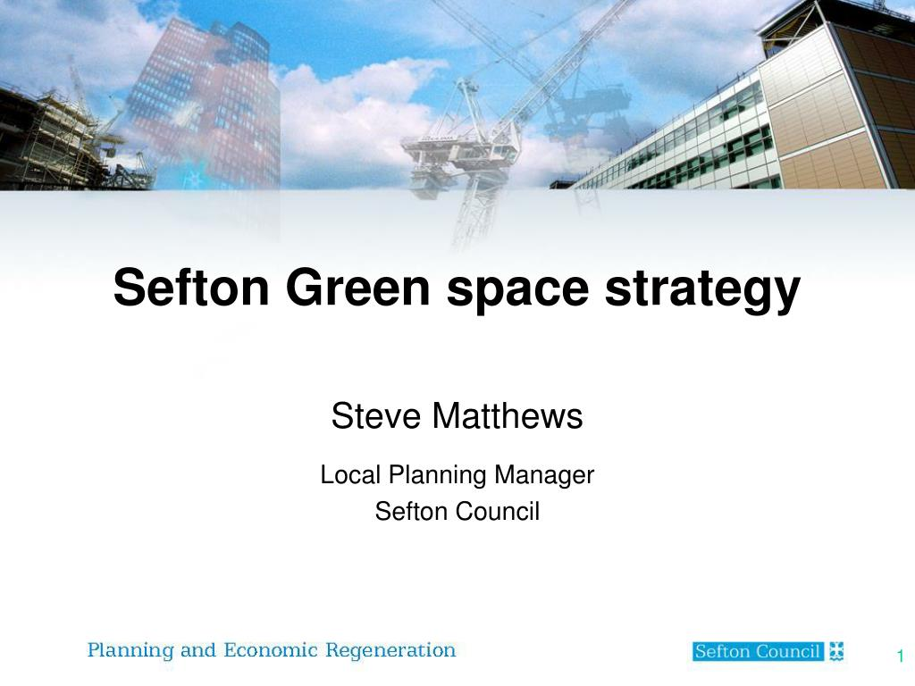 sefton green space strategy l.