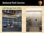 cold storage vault yell