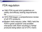fda regulation