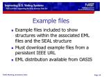 example files