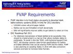 fvap requirements