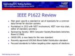 ieee p1622 review