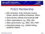p1622 membership