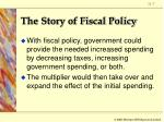 the story of fiscal policy7