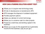 how can a funding solution assist you