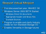 storport virtual miniport