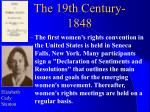 the 19th century 1848