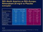 rio north america ve rio europe rimonabant 20 mg d vs placebo sonu lar