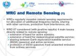 wrc and remote sensing 1
