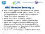 wrc remote sensing 2