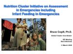nutrition cluster initiative on assessment in emergencies including infant feeding in emergencies