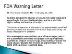 fda warning letter13