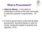 what is procurement7