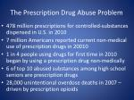 the prescription drug abuse problem