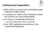 commercial imperative