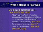 what it means to fear god6