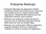 enterprise mashups