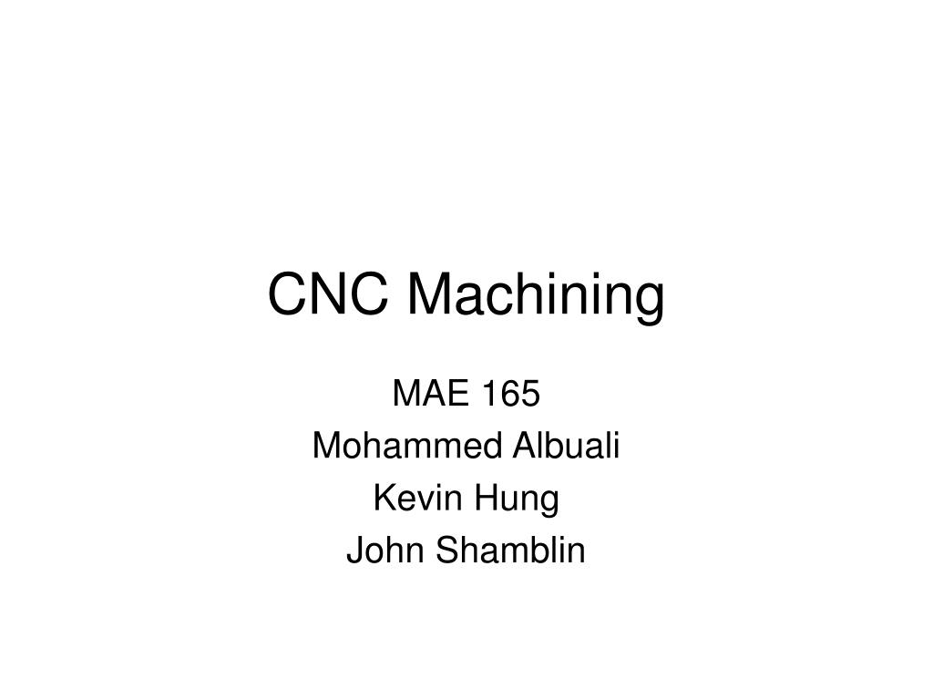 cnc machining l.