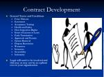 contract development