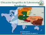 ubicaci n geogr fica de laboratorios acreditados