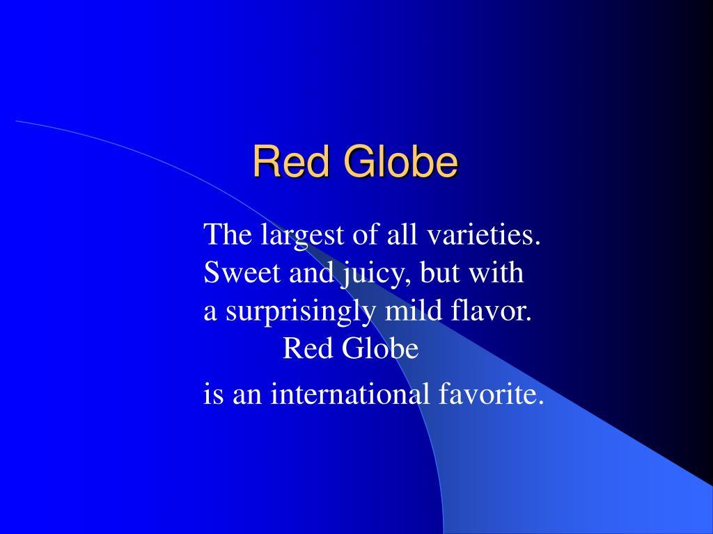red globe l.