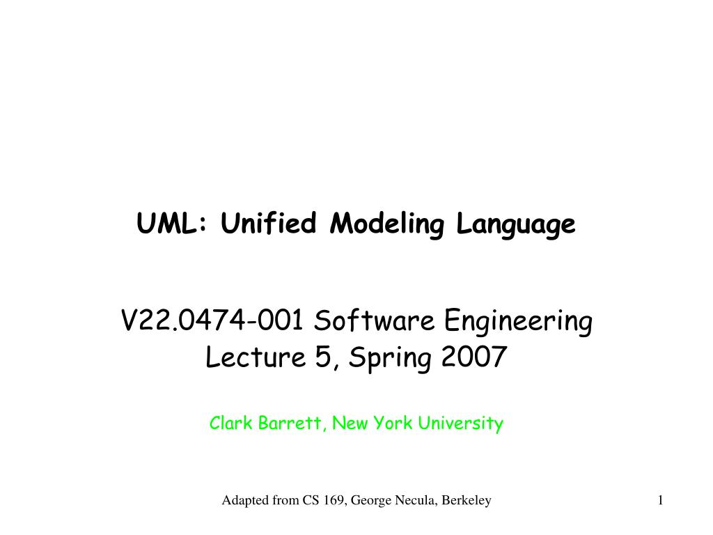 uml unified modeling language l.