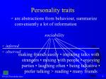 personality traits9