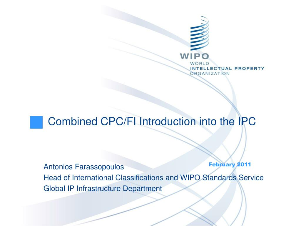 combined cpc fi introduction into the ipc l.