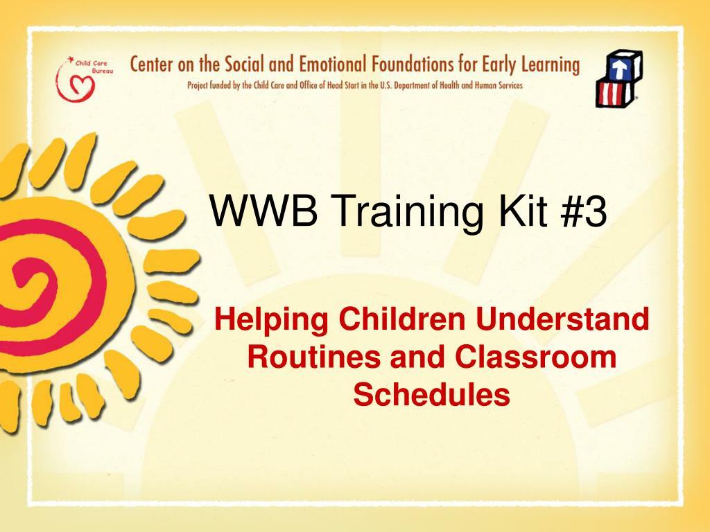 wwb training kit 3 l.