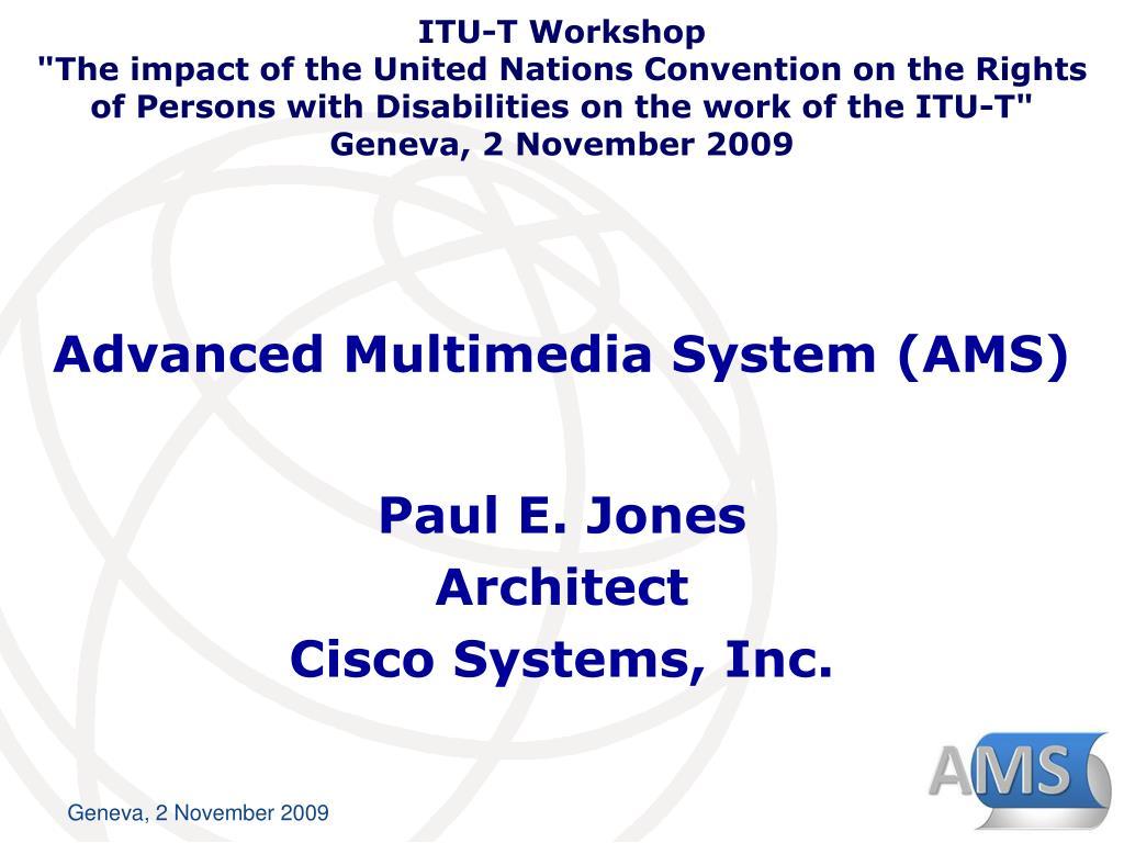 advanced multimedia system ams l.