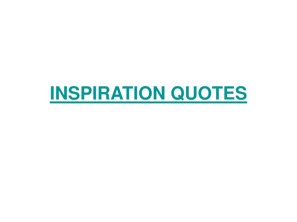 inspiration quotes l.