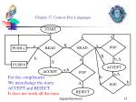 chapter 17 context free languages14