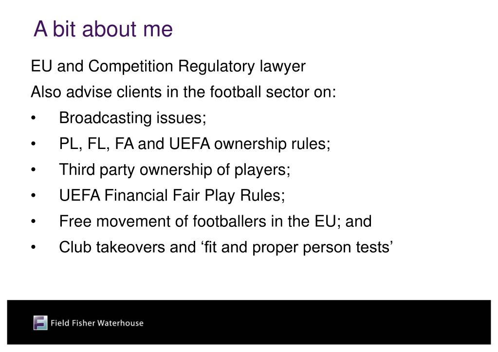 EU and Competition Regulatory lawyer