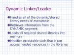 dynamic linker loader