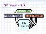 elf views split