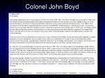 colonel john boyd25
