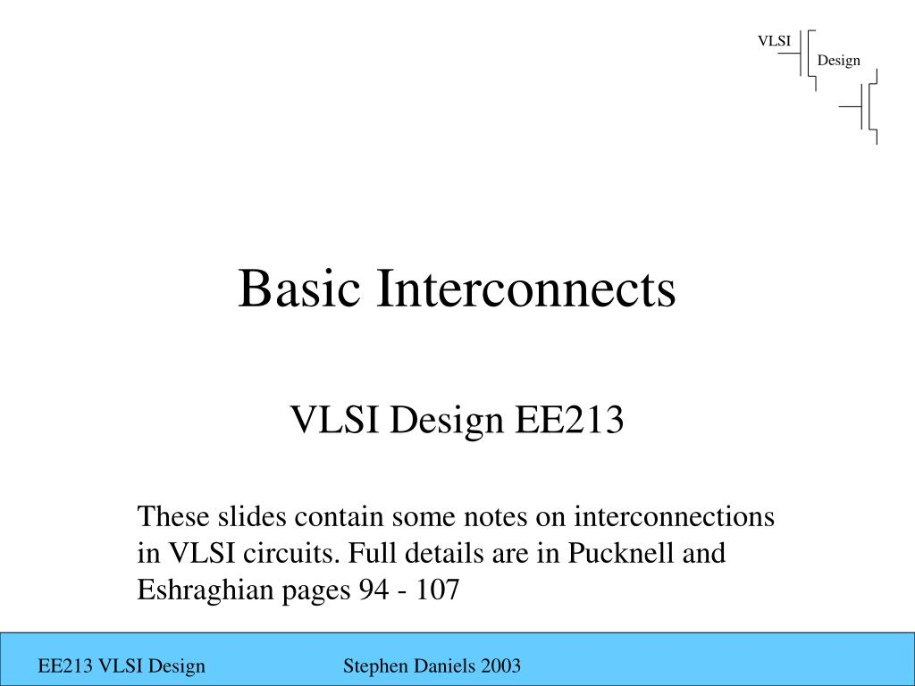 basic interconnects l.