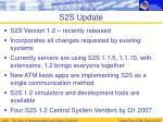 s2s update