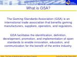 what is gsa