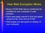 how web encryption works