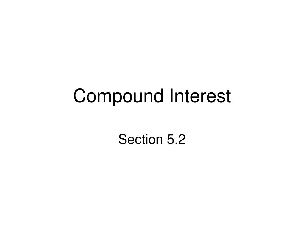 compound interest l.