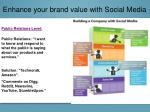 enhance your brand value with social media6
