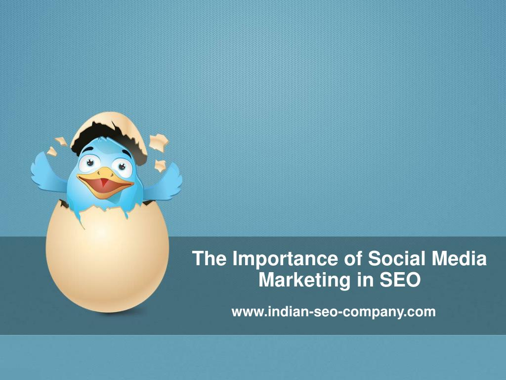 the importance of social media marketing in seo l.