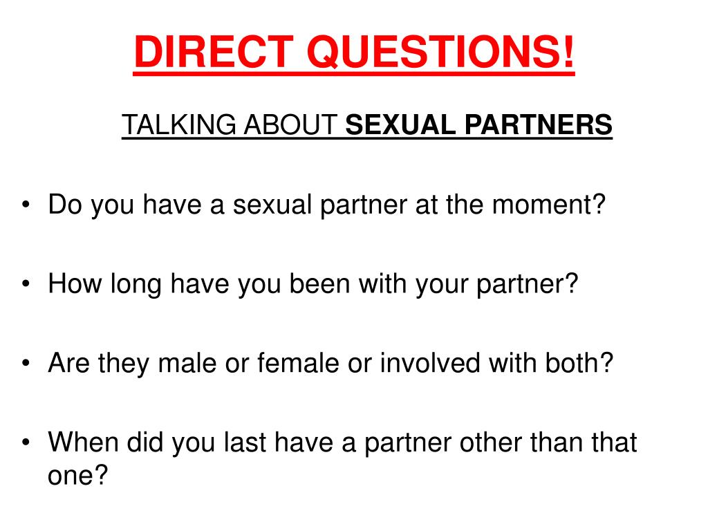 DIRECT QUESTIONS!