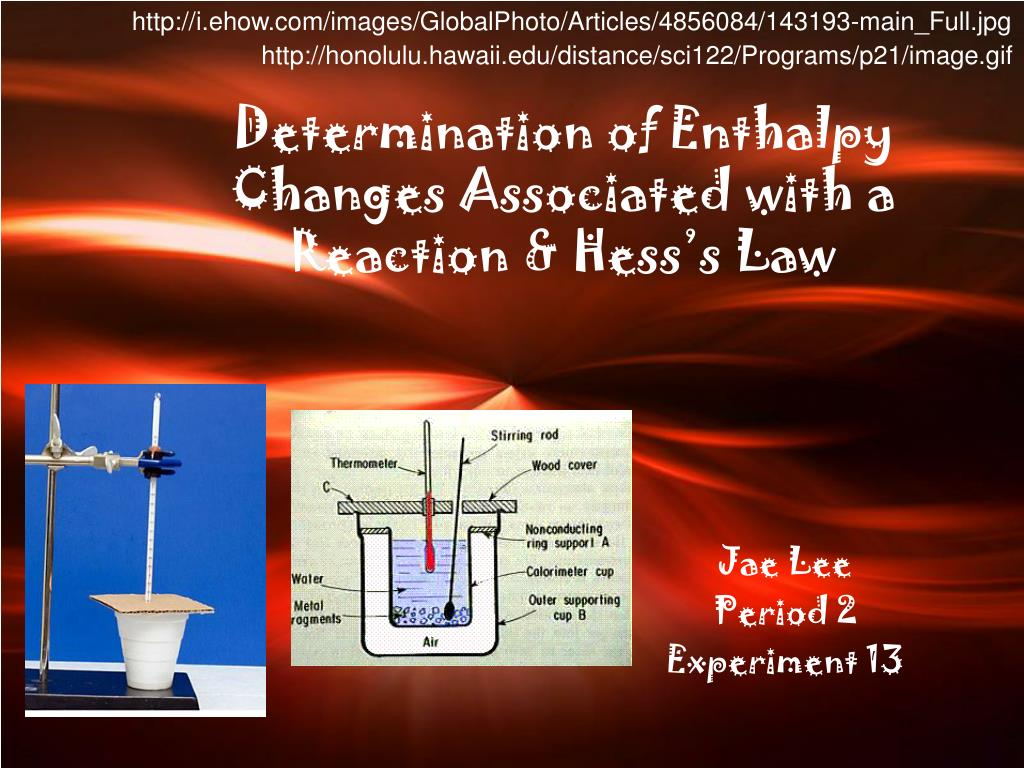 determination of an enthalpy change of A bbc bitesize secondary school revision resource for higher chemistry on potential energy diagrams, exothermic, endothermic reactions, enthalpy changes.
