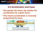 6 2 acceleration and mass