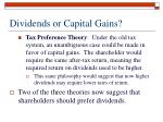 dividends or capital gains11